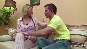 Step-Son Seduce Young Step-Mom to Fuck..