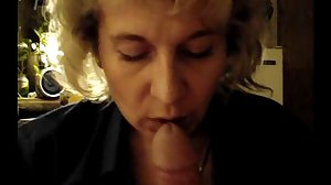 Mother Blowjob NOT her son