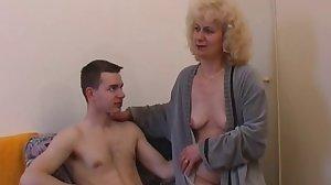 Czech mature with boy