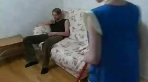 Russian Lady and Boy 18