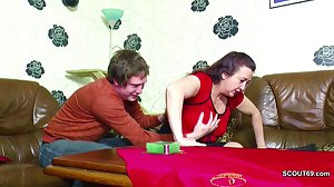 Step-Son Seduce German Mom to Fuck her..