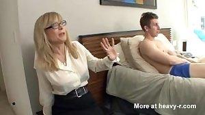 Boy Busted Masturbating By Friends Mom